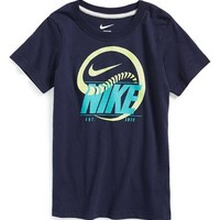 Toddler Boy's Nike 'Snake Baseball' Graphic T-Shirt,