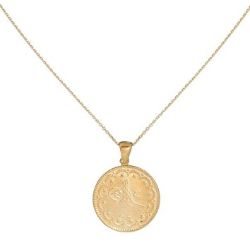 Vintage Coin Necklace
