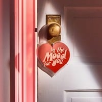 Heart Message Door Hanger | Urban Outfitters