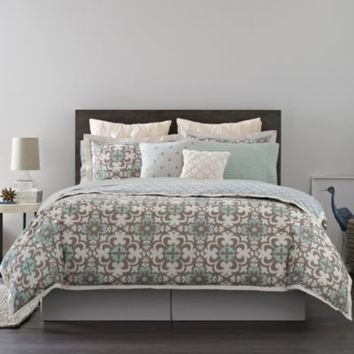Real Simple® Camille Reversible Duvet Cover