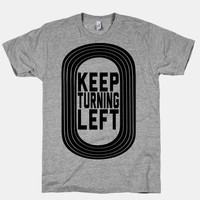 Track: Keep Turning Left
