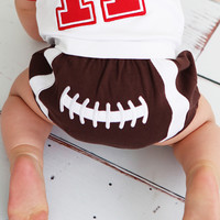 RuggedButts Football Bloomer© - Diaper Cover