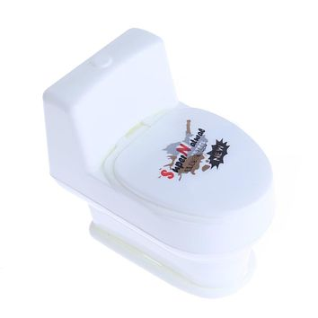 Mini Funny Prank Squirt Spray Water Toilet Closes tool Joke Gag Toy Gift For Kids