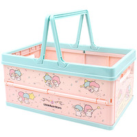 Buy Sanrio Little Twin Stars Foldable Storage Crate with Handle at ARTBOX