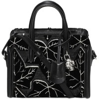 Ivy Jacquard Padlock Small Zip Around - ALEXANDER MCQUEEN