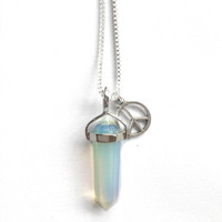 London Loves LA Crystal Necklaces- SALE