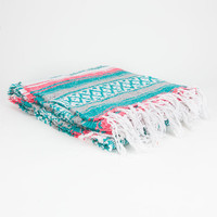 Bright Stripe Serapa Blanket Pastel One Size For Women 24546895201