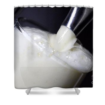 Beer Foam Shower Curtain