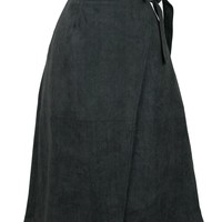 Harriet Suede Skirt