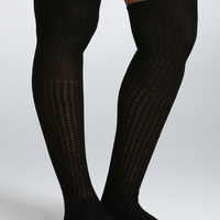 Open Stitch Knee-High 2 Pack Socks