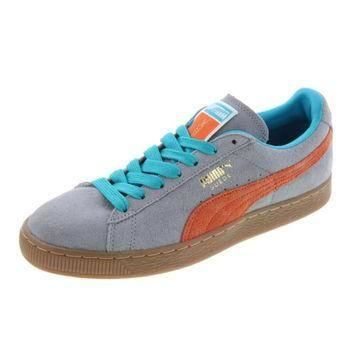 Puma Mens Classic Suede Colorblock Athletic Shoes