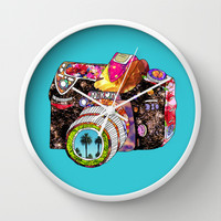 Picture This Wall Clock by Bianca Green