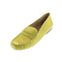 Naturalizer Womens Lohan Leather Penny Smoking Loafers
