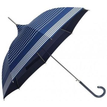 Molly Marais Blue and Silver Pagoda Umbrella