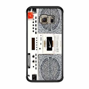 nike air jordan radio boombox samsung galaxy s6 s6 edge s3 s4 s5 cases