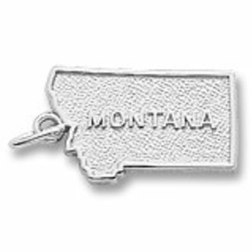 Montana Charm In Sterling Silver