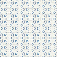 Acrylic Blue Triangles - heatherdoucette - Spoonflower