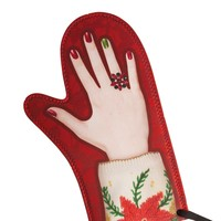 Ugly Sweater Oven Mitt