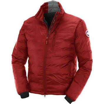 Canada Goose Lodge Down Jacket Men's Red/black Xs