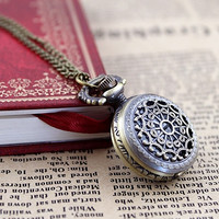Elegant Fashion Jewlery Small Size Antique New Style Cute Fashion Pocket Watch = 1958280452