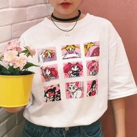Sailor Moon Graphic Print Tee