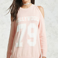 Open-Shoulder Hollywood Tunic