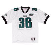 Mitchell & Ness Brian Westbrook 2003 Authentic Jersey Philadelphia Eagles In White