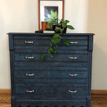 Stormy Night - 4 Drawer Dresser