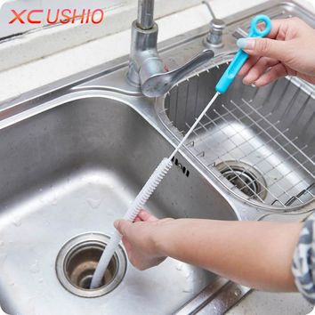 Flexible 70cm Kitchen Sewer Bendable Cleaning Brush | Bathroom, Sink, Tub, Toilet