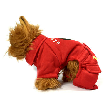 Red USA Air Force Dog Costume