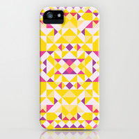 Happy iPhone & iPod Case by Leandro Pita