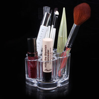 Quincunx Cosmetic Box Make Up Container Transparent Jewelry Box Cabinets Storage Box Gift