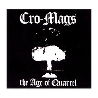 Cro-Mags Men's Cloth Patch Black