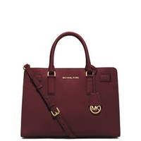 Dillon Saffiano Leather Satchel | Michael Kors