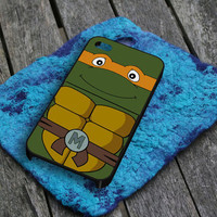 TMNT Michelangelo Teenage Mutant Ninja Turtles  iPhone 5 Case