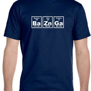 Bazinga Periodic Table T-Shirt, The Big Bang Theory Sheldon Cooper