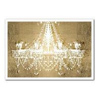 Dramatic Entrance Gold Art Print | zulily