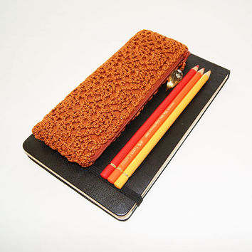 Shimmering Bronze Pencil Case
