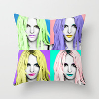 SELFISH, britney spears Throw Pillow by Lovejonny | Society6