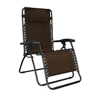 Camping Living Room Outdoor Patio Folding Chair Beach Zero Gravity Pool Lounge
