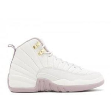 Beauty Ticks Nike Air Jordan 12 Retro Prem Hc Gggs Heiress Light Metallic Pinke Basketball Sport Shoes
