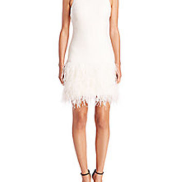 Elizabeth and James - Dania Feather Dress - Saks Fifth Avenue Mobile