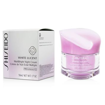 White Lucent Multibright Night Cream By Shiseido