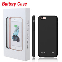 4.7inch Ultra Thin Phone Case For Iphone 6 6s 2500mAh External Backup Battery Charger Cover Power Bank Case Phone Batteries