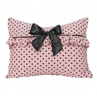 Wake Up Frankie - Brigitte Bar-dot Standard Sham (Pre-Order!) : Teen Bedding, Pink Bedding, Dorm Bedding, Teen Comforters