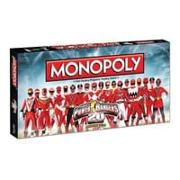 Monopoly Power Rangers 20th Anniversary Edition by USAopoly