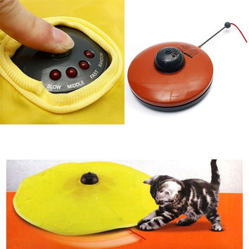 Spinning Toy for Cat - The Undercover Mouse (Color: Red) = 1929592260