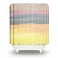 Artistic Shower Curtain | Rachel Burbee | Skies The Limit V | Dianoche Designs