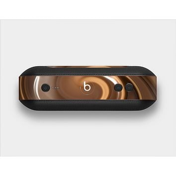 The Chocolate and Carmel Swirl Skin Set for the Beats Pill Plus