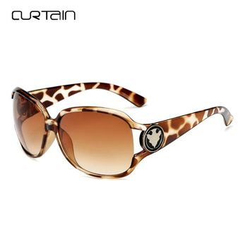 Curtain Sunglasses Women Elegant Fashion Big Frame Ladies Sun Glasses Casual Female Sunglasses Femeie Ochelari De Soare Y3043
